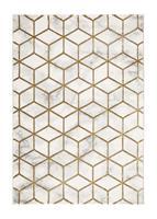 Diamond Cube Guld 160*230