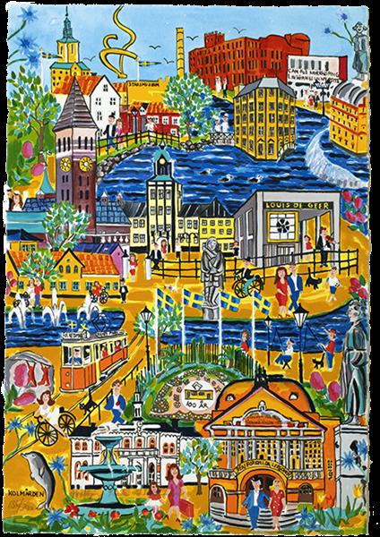 Norrköping, staden vid strömmen