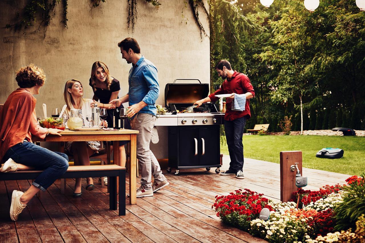 Gardena smart grill