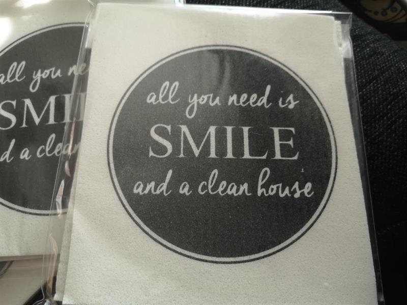 Tiskirättipakkaus 2KPL SMILE