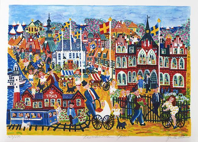 Korsvirkesstaden Ystad