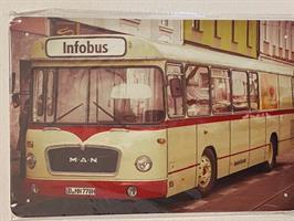 info bus, kyltti