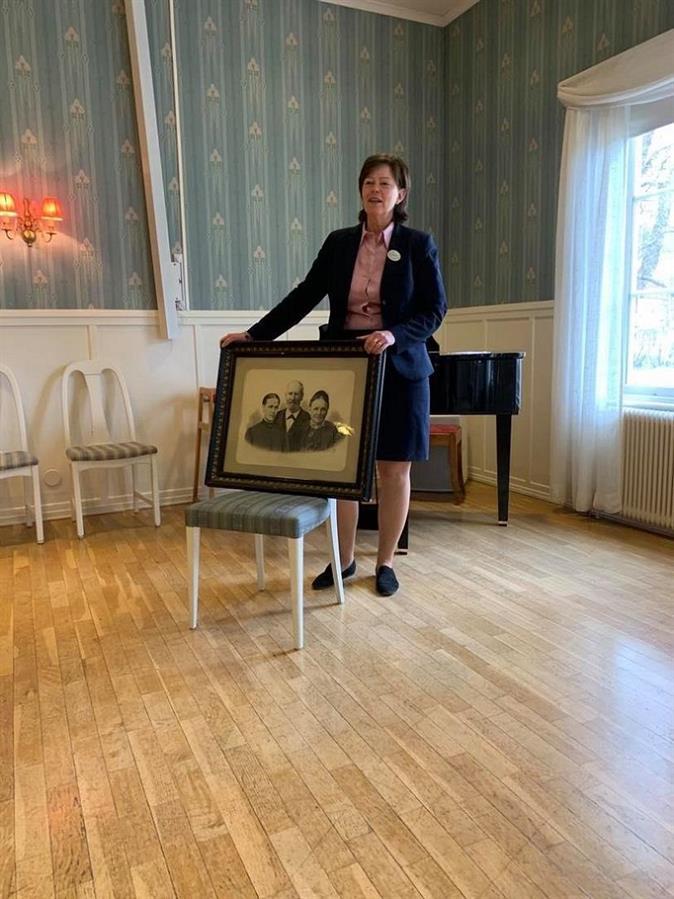 Inger Ångström berättar om Hotell Järvsöbadens spännande historia
