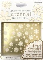 DL- Sticker Snowflake white / Christmas