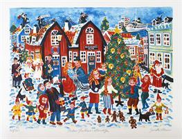 Poetens Juldans i Norrtälje