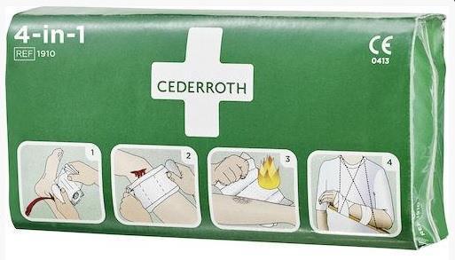 Cederroth Blodstoppare 4-in-1 stor