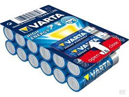 Batteri Varta AA LR6 12-p