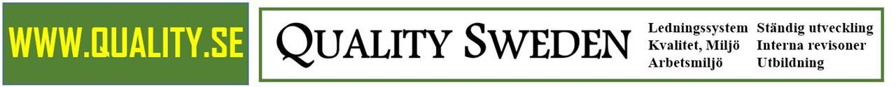Quality & Environmental Management