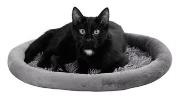 Kattbädd Med Microfiber Grå