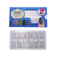 PUEEN- Nail Stamp Plate Geo Lover 01