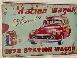 Station wagon 1972, kyltti
