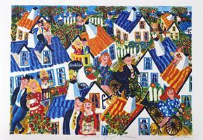 Den lilla byn på Österlen