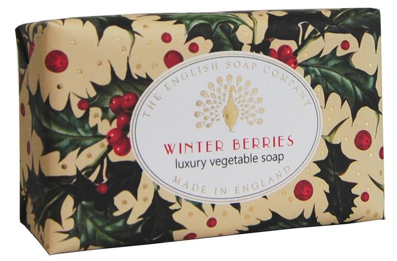 Festive Wrapped Soap Winter Berries 200gr