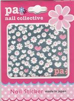 DL- Sticker flower white & pink