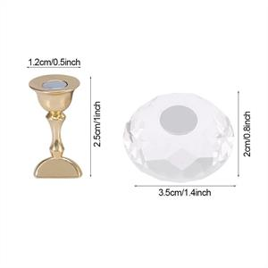 BL- Chrystal 5 tip holder with Clear diamond foot