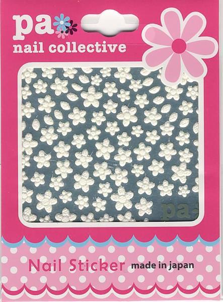 DL- Sticker Flower white