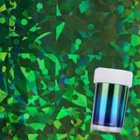 DM- Folie #87- 2  Holo Green