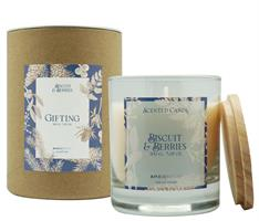 Scented Candle Gifting 200gr Biscuit & Berries