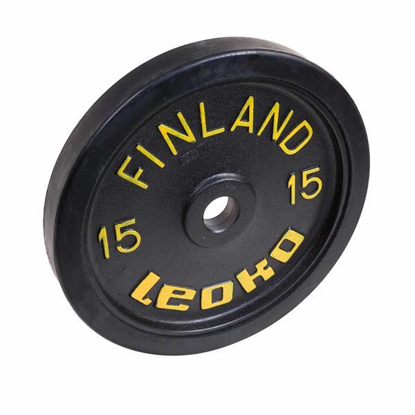 Leoko VL skive trening 15kg sort