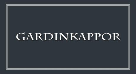 Gardinkappor från K/M