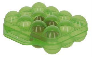 Äggbox För 12 Ägg Plast Grön