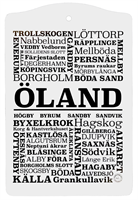 SKÄRBRÄDA ÖLAND | SVART/VIT