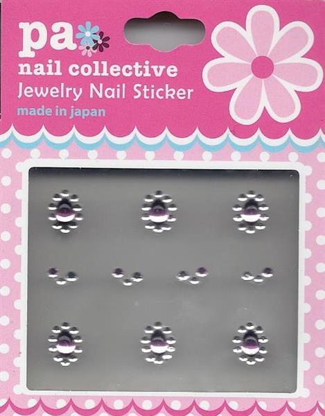 DL- Sticker Jewel pink