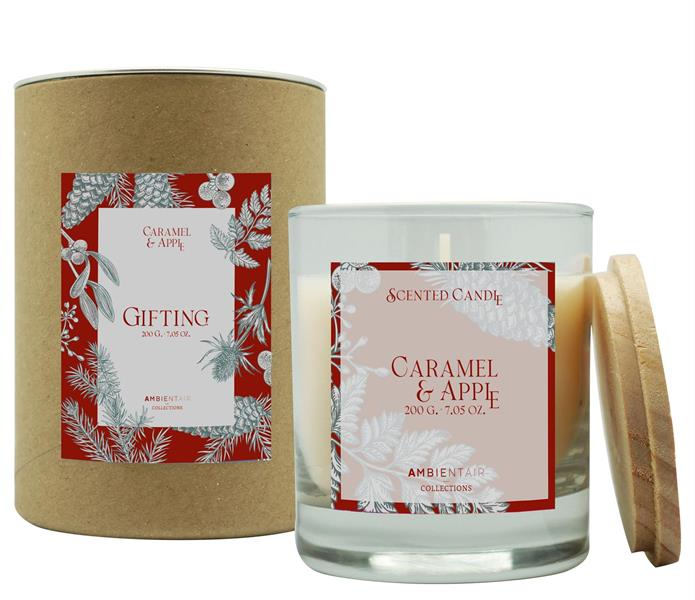 Scented Candle Gifting 200gr Caramel & Apple
