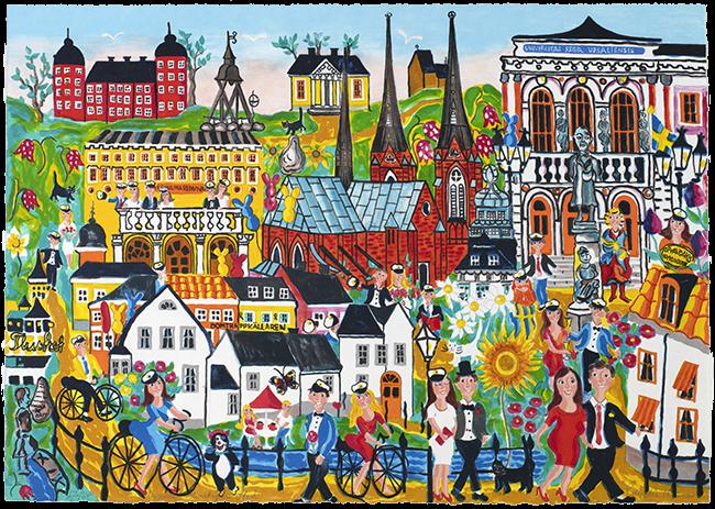 Uppsala kunskapens stad