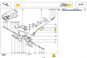 VIS CHC M8X125 RECOUPEE A 35MM - CHS Bolt M8-50