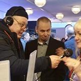 Micael Lindberg och jag intervjuade av Radio Jämtland