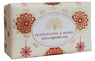 Festive Wrapped Soap Frankincense & Myrrh  200gr