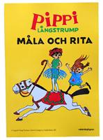 MÅLARBOK  PIPPI LÅNGSTRUMP