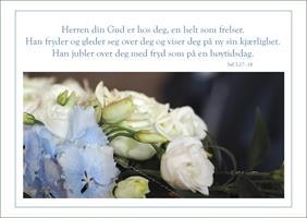 Bibelkort - Herren din Gud er hos deg