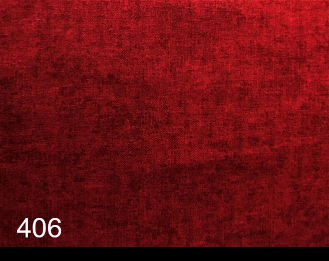 Melange Ekte rød 406