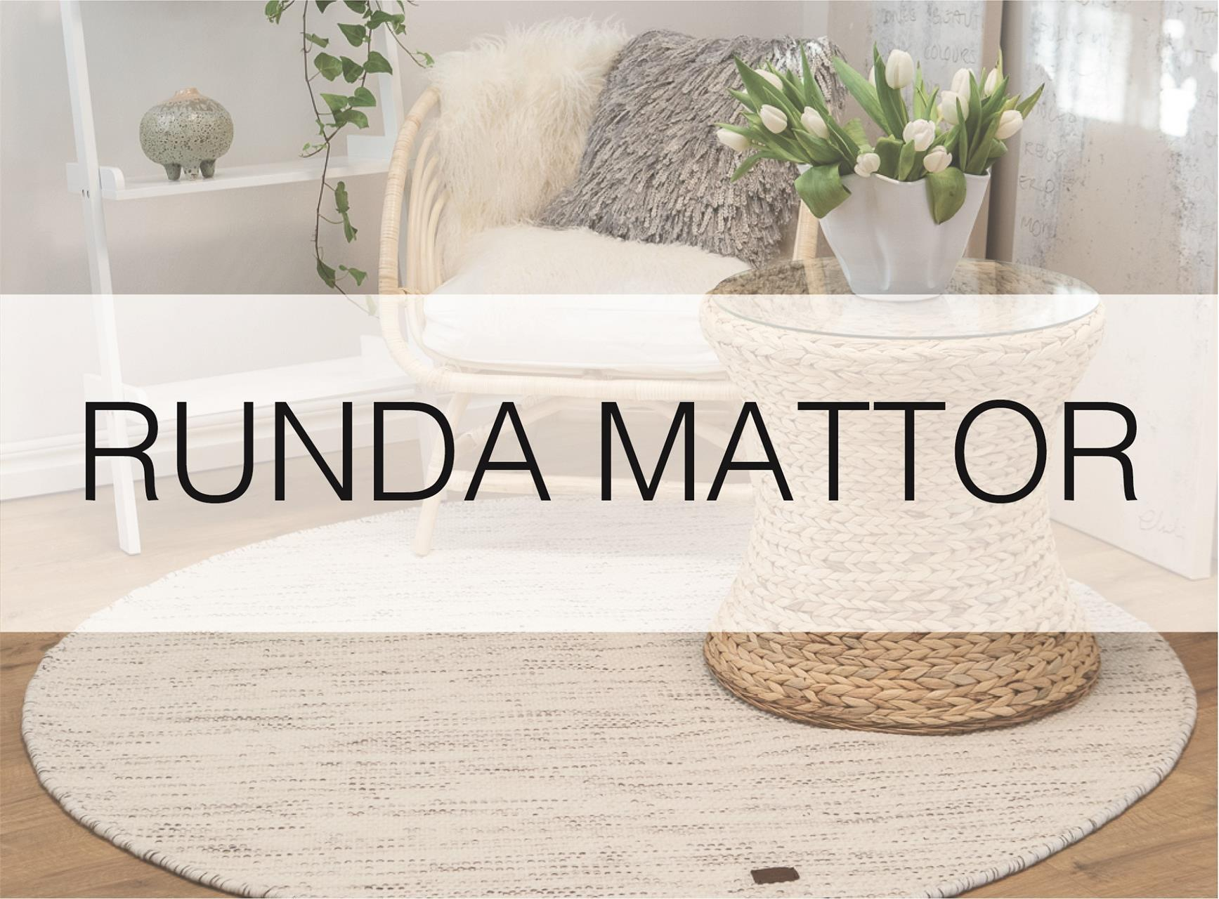 Runda mattor