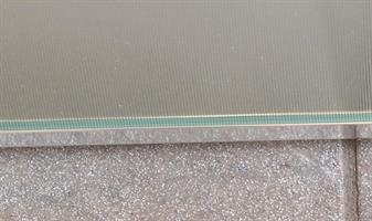 U-profil, aluminium
