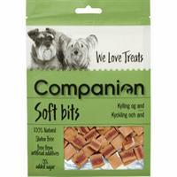 Companion Soft Bits Kyckling & Anka 80g