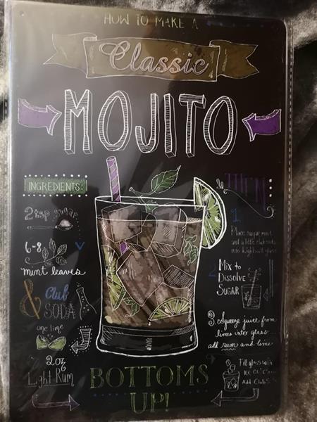 Mojito, peltitaulu