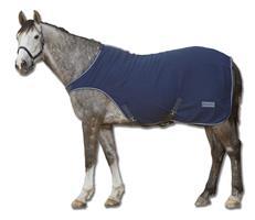 Täcke Walker Fleece Waldhausen Navy Ponny/Cob