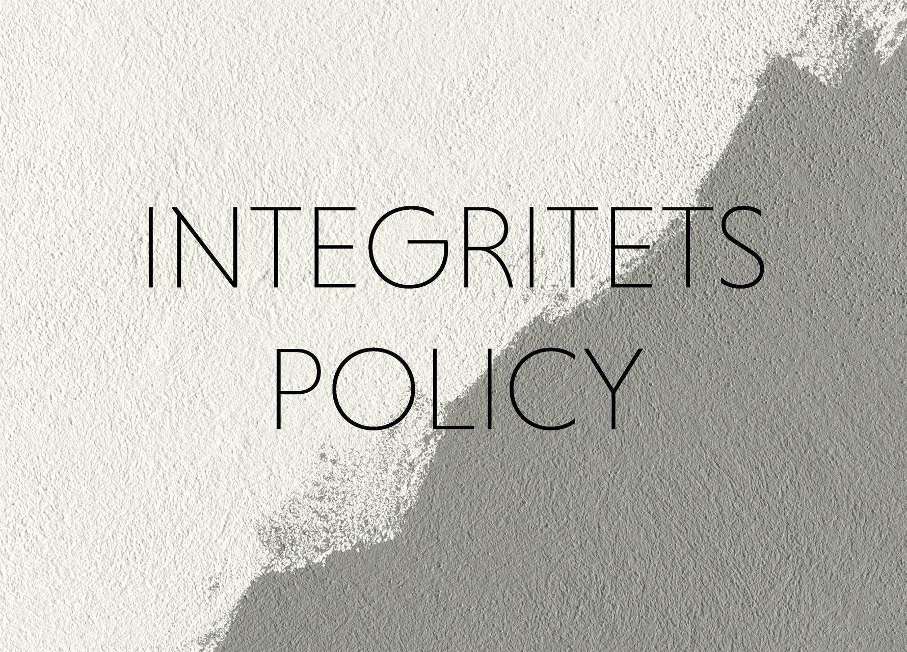 Integritetspolicy K/M
