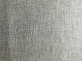 Blå/hvit vevet bomull