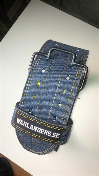 Wahlander Styrkeløftbelte Vegansk Jeans
