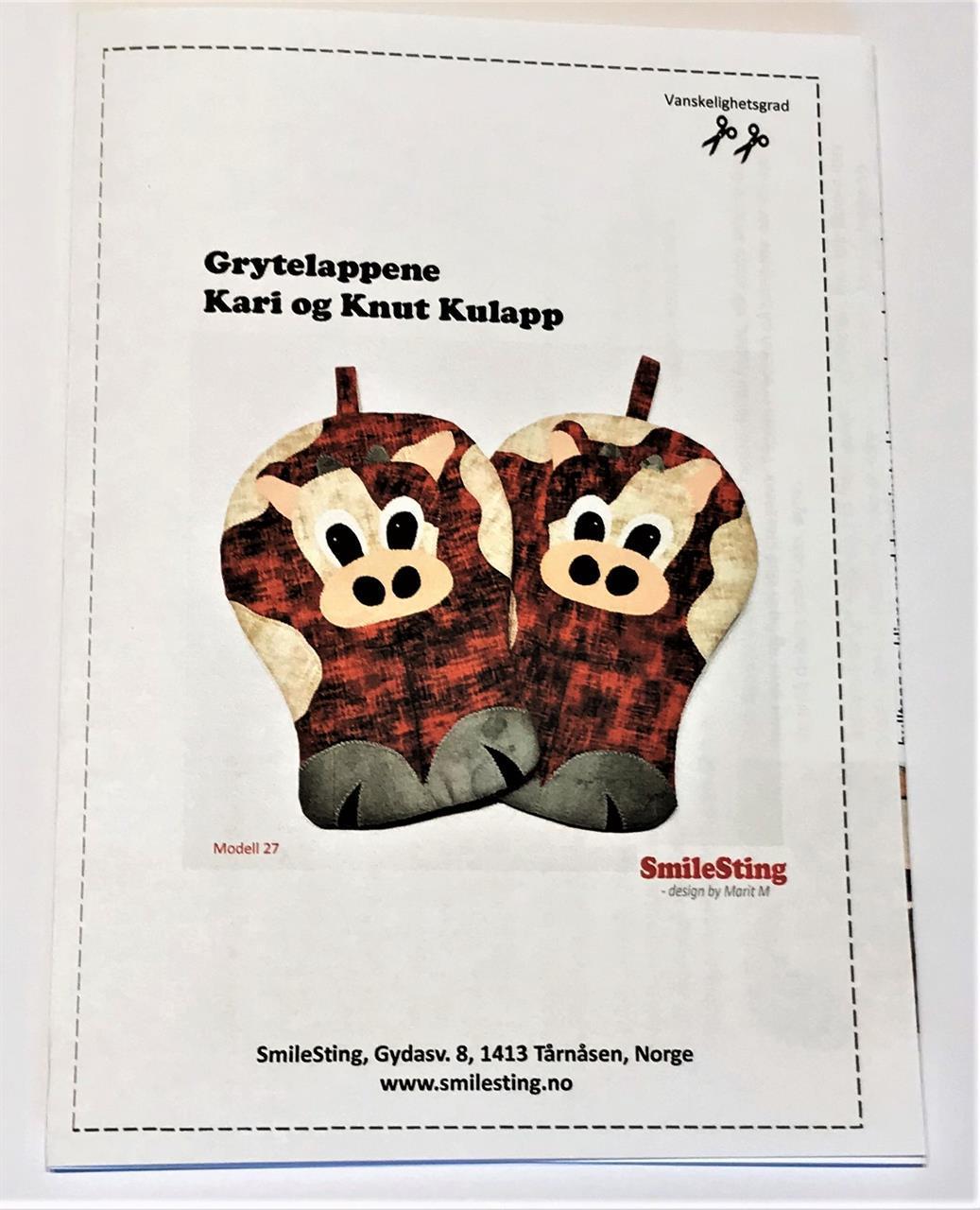 Mønster til Kari og Knut Kulapp