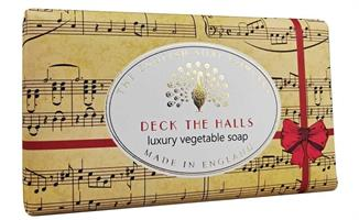 Festive Wrapped Soap Deck the Halls 200gr