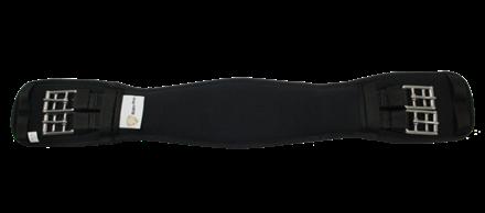 Sadelgjord Dressyr Memory Foam Svart 45cm