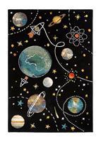 Atlas Space Svart 120*170