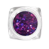 KN- Jar MIX Glitter DEEP PURPLE
