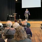Föreläsning från stora scenen: Erik Nilshammar