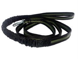 Baggen Rykkobbel 4m kjørestrikk svart-grønn